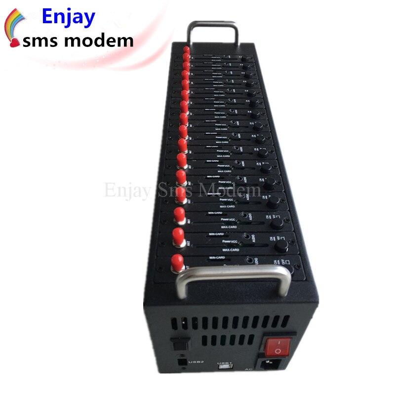 3g-modems Networking Gsm Sms Piscine Modem Imei De Soutien En Vrac Changeant Avec 16 Ports Rheuma Lindern