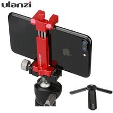 Ulanzi ST 03 מתכת חצובה הר מתאם עבור iPhone X 8 בתוספת סמסונג, נעל קרה הר תמיכה Rode מיקרופון/led וידאו אור