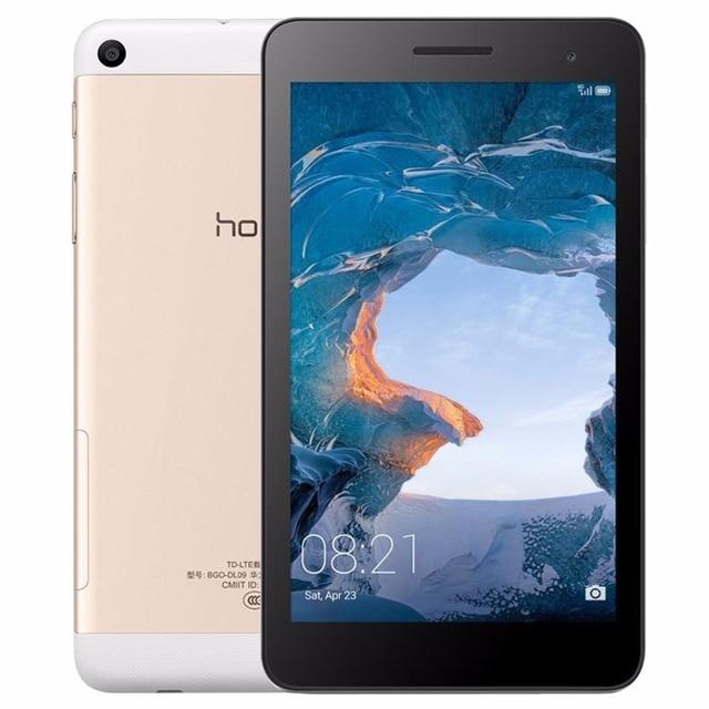 Оригинальный Huawei Honor MediaPad LTE/bgo-dl09 7 дюймов 2 ГБ 16 ГБ 4 г Телефонный звонок Планшеты Android 6.0 Spreadtrum sc9830i quad-core GPS