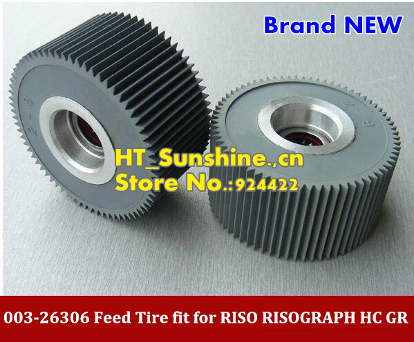 New 003-26306  Pick up Rollers fit for RISO HC GR CR TR RP RZ RV Feed Tire