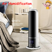 Air Humidification Machine Mist Maker Remote Control Aromatherapy Diffuser Household Air Humidifier Essential Oil Diffuser
