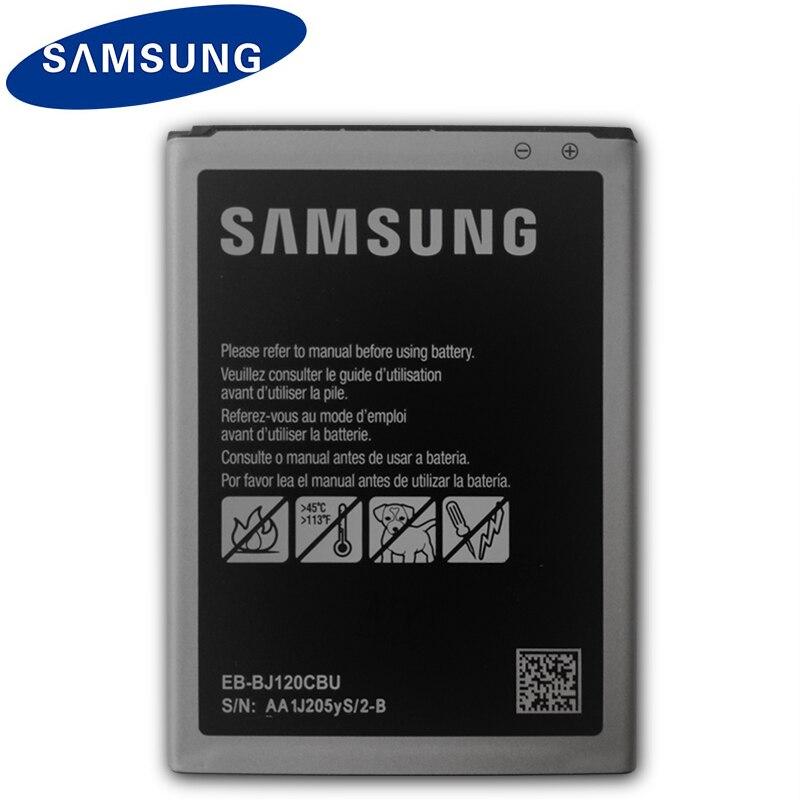 Bateria Original SAMSUNG 3 J1 EB-BJ120CBU Para Samsung Galaxy Express 2016 J120 SM-J120A SM-J120F J120A J120h J120ds 2050 mah NFC