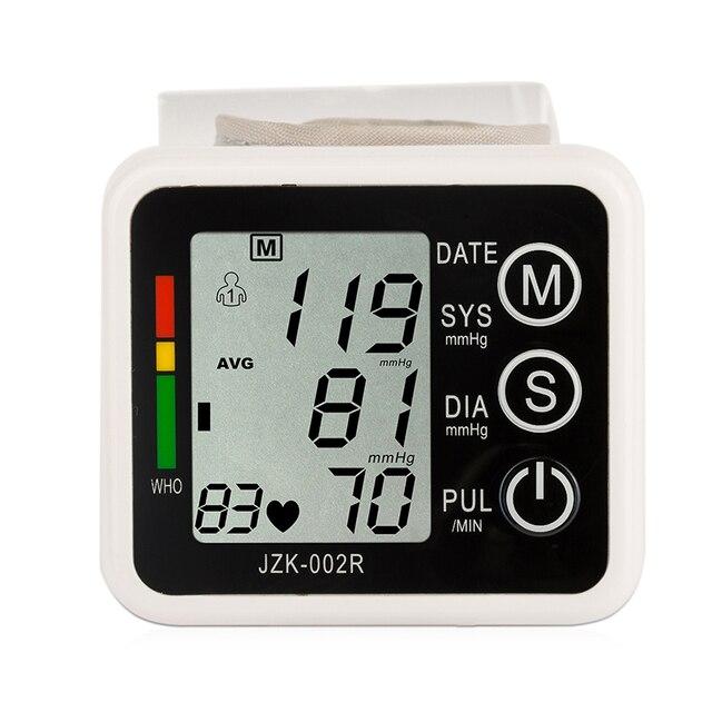 Наручные монитор артериального давления для контроля за состоянием тонометр прибор для измерения кровяного давления здравоохранения метр сфигмоманометр pulsometro для сердца
