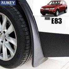 Guardabarros moldeados para coche, accesorios de guardabarros delanteros y traseros, compatible con BMW X3, E83, 2007, 2008, 2009, 2010