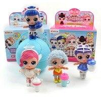 Новый Eaki оригинальный генерировать II кукла-сюрприз lol детские головоломки игрушки для детей забавная игрушка «сделай сам» принцесса кукла ...