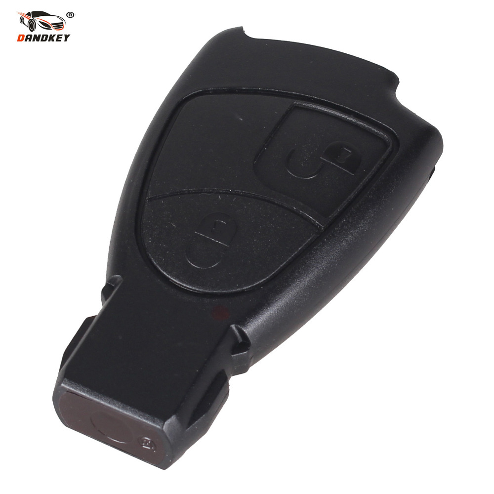 DANDKEY Replacement 2 Button Remote Key FOB Shell For Mercedes Benz M S C E CLS CLK