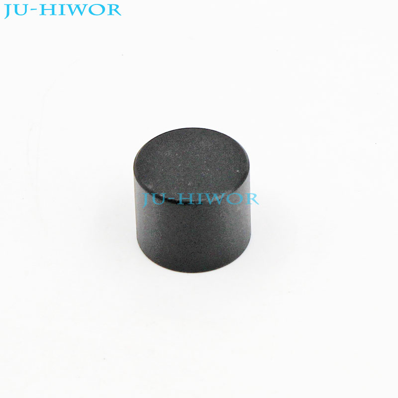 (5pcs/lot) LXN17x14 Mini Aluminum Alloy Knobs Cap 17x14mm Mounting 6mm Black For Rotary Potentiometer Encoder Switch