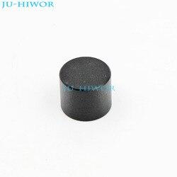 Mini perillas de aleación de aluminio LXN17x14, tapa de 17x14mm, montaje de 6mm, negro, para interruptor codificador de potenciómetro giratorio, 50 Uds.
