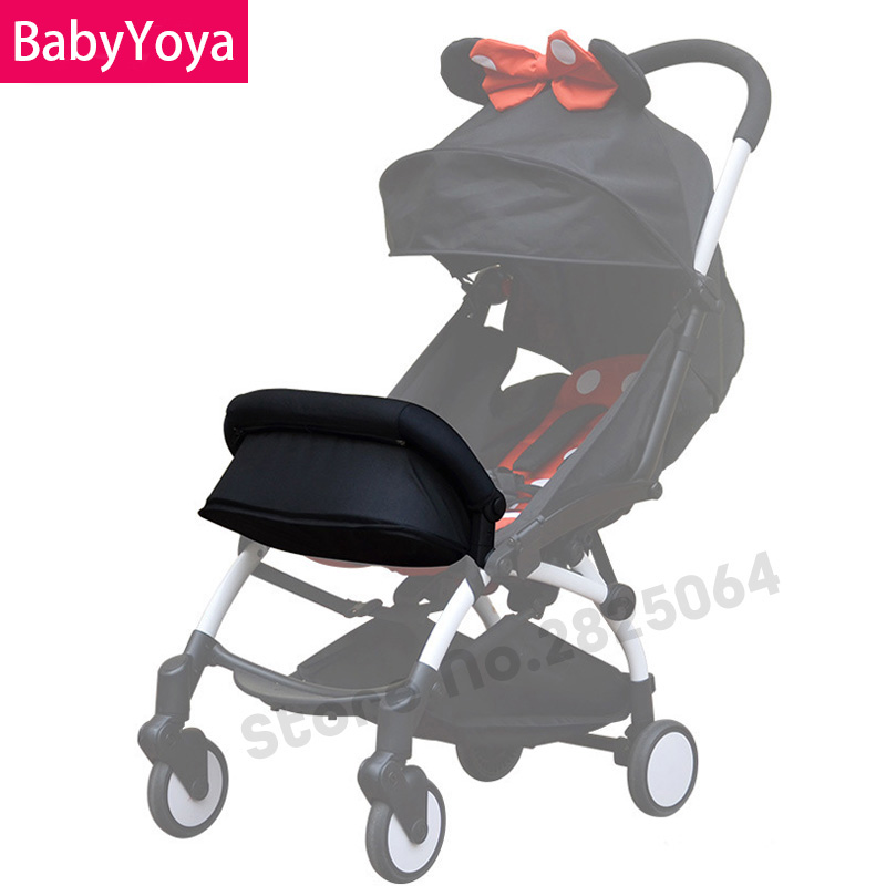 Babyyoya Baby Stroller Accessories Armrest Bumper Bar Set Baby Carriages Feet Support Mat General Baby Carriers Armrest Set Pram Activity & Gear