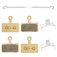 купить CHOOSE Mtb Bike Disc Brake Pads For SHIMANO XTR / DEORE XT M8000 / SLX Full Metal Bicycle Brake Pads 4 Pairs по цене 696.25 рублей