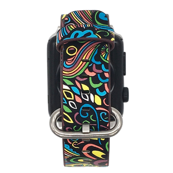 Floral Print Band for Apple Watch 4