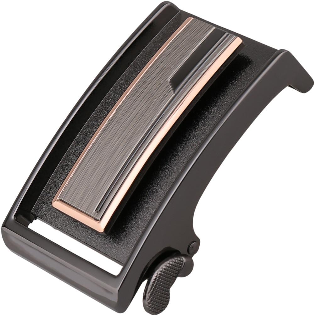ZPXHYH Fashion Men's Business Alloy Automatic Buckle Unique Men Plaque Belt Buckles For 3.5cm Ratchet Men Apparel Accessories G2
