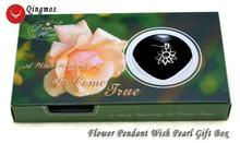 Qingmos wish pearl 20 мм цепочка в виде цветка Чокеры ожерелье