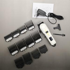 Image 5 - Cordless powerful hair clipper professional barber hair cutting machine hair cut adjustable beard electric hair trimmer for men