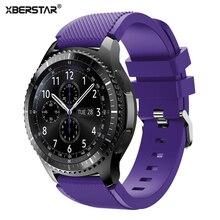 22mm Sport Silicone Montre Bandes Strap pour Samsung Galaxy Gear S3 Classique SM-R770 S3 Frontière SM-R760 SM-R765 Smart Watch