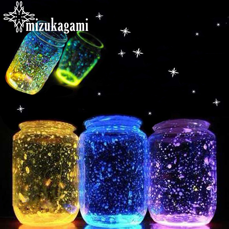 1 Bag/lot 10 Species Different Fashion Beautiful Noctilucent Sand Material Epoxy Mold Makeing Jewelry Filling For DIY Jewelry