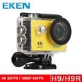 "Original EKEN H9/H9R Action camera Ultra HD 4 K/25fps WiFi 2.0 ""capacete Cam ir pro Esporte câmera à prova d' água debaixo d' água"