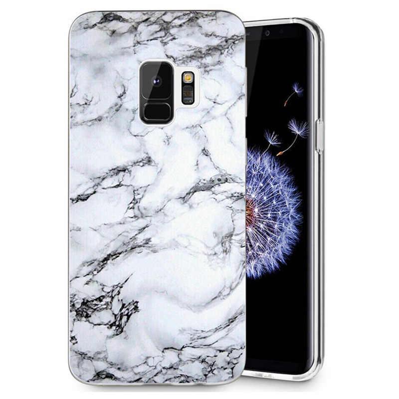 Para Samsung Galaxy S9 S9Plus S8 Plus S7 Nota borda 8 J530F J720 A3 A5 2017 TPU Caso Design Pattern soft Shell Pintado Capa D126