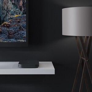 Image 3 - שיאו mi mi תיבת S הגלובלי גרסה 4K טלוויזיה תיבת Cortex A53 Quad Core 64 קצת מלי 450 אנדרואיד 2GB + 8GB HD mi 2.0 Google BT4.2 טלוויזיה תיבת מקרה