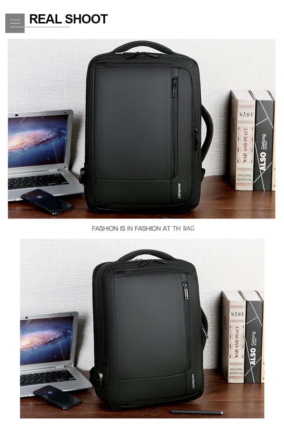 15 Multifunction USB Backpack Man Bag 15.6inch Laptop Backpacks Travel Bags Large Capacity Luggage Backpacking Waterproof Notebook