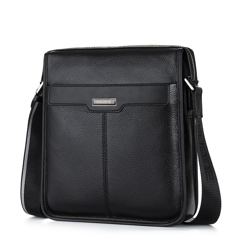 Vintage Genuine Leather Business Handbags Men Crossbody Bags Men's Travel Laptop Cowhide Shoulder Bag Messenger Tote Bags big pocket pad genuine business greased leather cowhide travel crossbody 14laptop shoulder messenger book shopping fashion bags