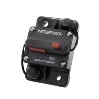 Circuit Breaker 60A 70A 80A 90A 120A AMP Circuit Breakers for Solar Car Boat Truck RV Inline Replace Fuse 12V 72V DC
