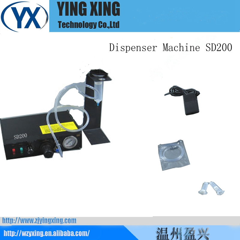 SD200 Semi-automatic Glue Doming Machine Automated Dispensing Systems