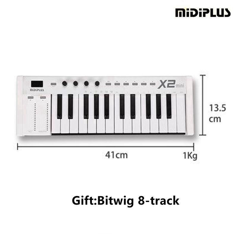 MIDIPLUS X2 mini 25 teclas ponderadas Controlador MIDI midi - Instrumentos musicales