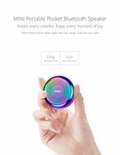 Mifa i8 Portable Bluetooth Speaker Built-inMicrophone Aluminium Alloy Body Mini Wireless 4.2 Mp3 Music Player