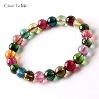 Close To Me натуральный турмалин браслет модные ювелирные изделия из драгоценных камней подарок для женщин