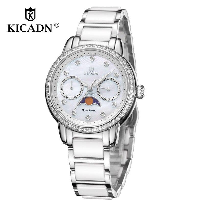 KICADN Watch Women Fashion Quartz Women Watches Ladies Top Brand Luxury Watch Female Wrist Watches Relogio Feminino Reloj Mujer цена и фото