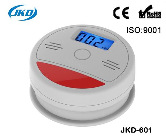 Home Security System Cordless Wireless Detector High Sensitive LCD Photoelectric Fire Alarm  Sensor CO Carbon Poisoning Gas 5pcs 433mhz sensor sensitive photoelectric home security system cordless wireless smoke detector fire alarm for home protection
