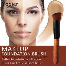 Бренд yoxier высокое качество кисти для макияжа косая головка