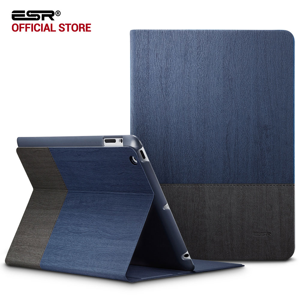 Case for iPad 2 3 4, ESR PU Leather Smart Cover Folio Case Stand with Auto Sleep/ Wake Function ecology Cover for iPad 2 3 4 for ipad air 2 case 360 degree rotating stand leather case smart cover with automatic wake sleep function for ipad6