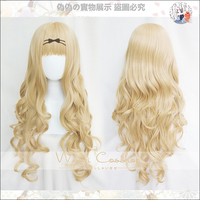 Biamoxer Shugo Chara ! Party ! Cosplay Wigs Mashiro Rima 80cm Long Curly Blonde Wig Dokki Doki Pucchi Puchi Synthetic Hair
