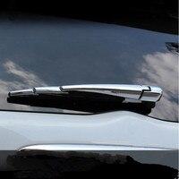 Car-styling cubierta trasera limpiaparabrisas modificar recortar caso pegatina para mitsubishi pajero sport/montero sport/challenger 2013-2016