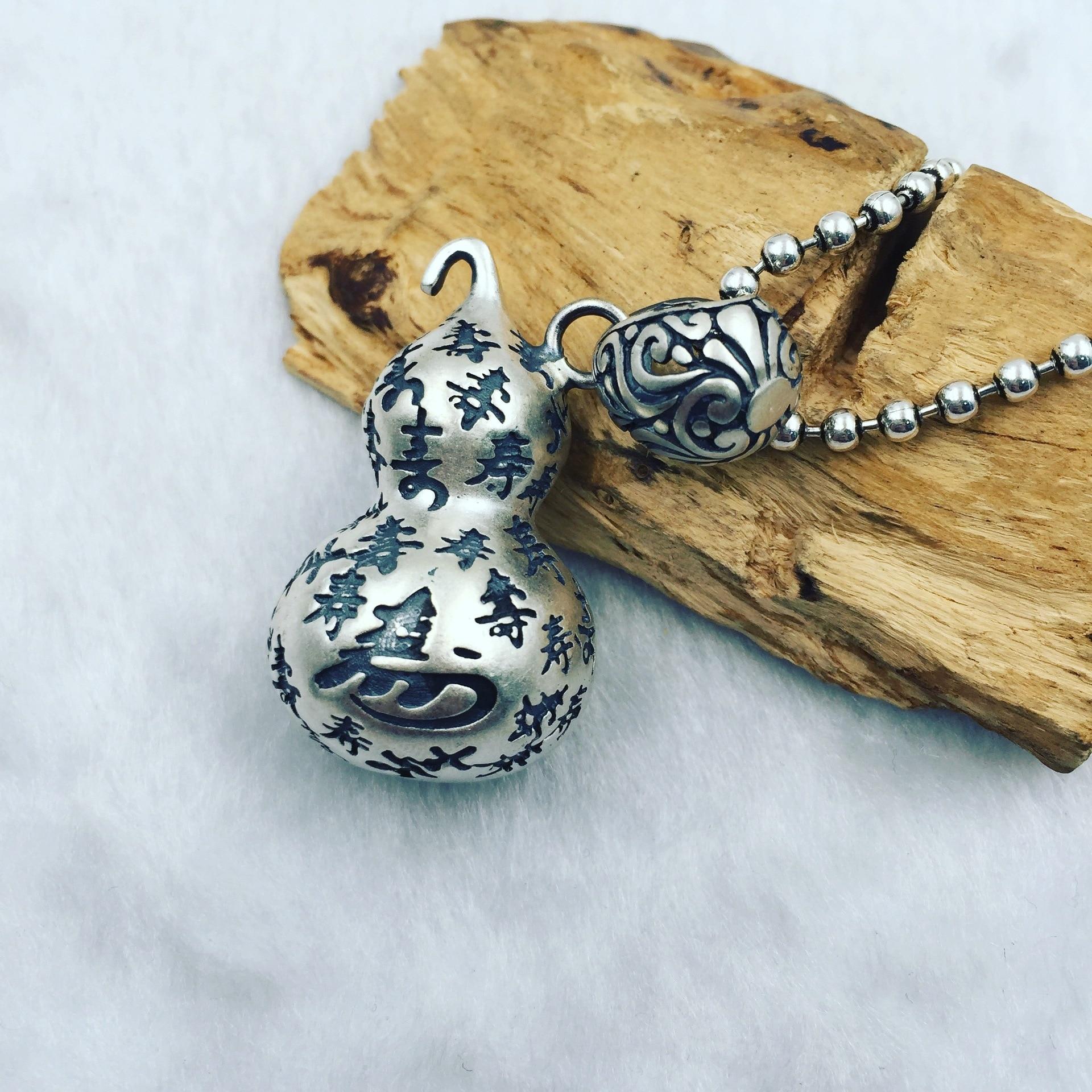 925 Silver Retro Silver Hoist Pendant свинка тигровый глаз 5 см