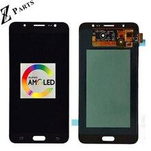 100% Original AMOLED pantalla LCD para Samsung Galaxy J7 2016 J710FN J710F J710M J710Y pantalla LCD con pantalla táctil digitalizador Asamblea