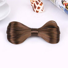 Fashion 7 Colors Women Big Bow Hairpin Girls Lovely Wig Popular Hair Clips Hair Accessories
