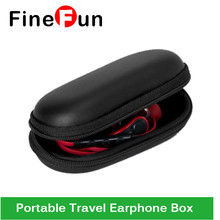 FineFun Transportable Journey Earphone Field Most cost-effective Storage Case Bag Headphone Equipment Headset Storage Bag Excessive-quality #A1472