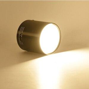 Image 4 - 7 واط/9 واط/12 واط/18 واط سطح شنت LED النازل AC110V/220 فولت الإضاءة الزخرفية النازل SMD5730 مصدر ضوء شحن مجاني