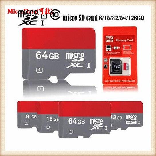 HOT New Micro SD Card 1TB 256GB 32GB 64GB 128GB 512GB Class 10 Memory Card Full Capacity Guaranteed cartao de memoria MicroSD
