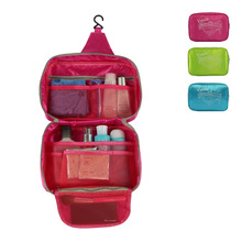 2017 New Travel Hook Venice Wash Storage Bag Portable Women Girl Folding Cosmetic Storage Box Organizer Toiletry Makeup bag(China (Mainland))