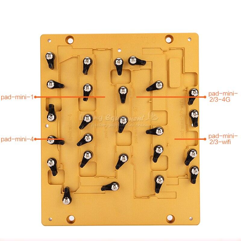 Новейшая модель LY ЧПУ мобильные формы и мобильных джиг для Ipad Mini 1 2 3 4 IC ЧПУ использовать