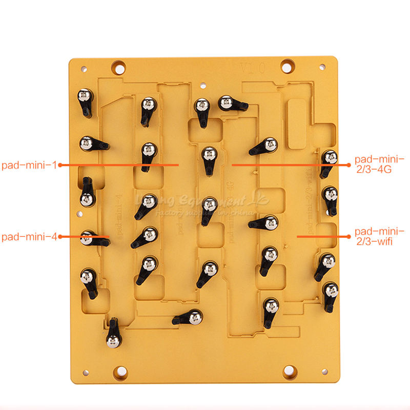 Newest model LY CNC mobile mould and mobile jig for ipad mini 1 2 3 4 ic cnc router use