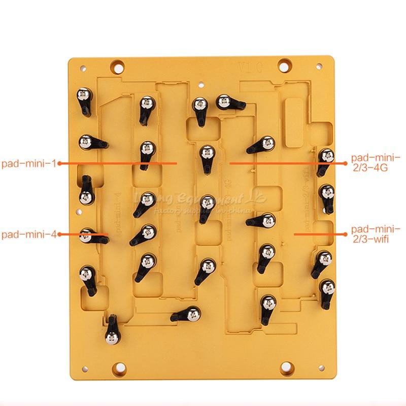 Nouveau modèle LY CNC moule mobile et gabarit mobile pour ipad mini 1 2 3 4 ic CNC routeur utilisation