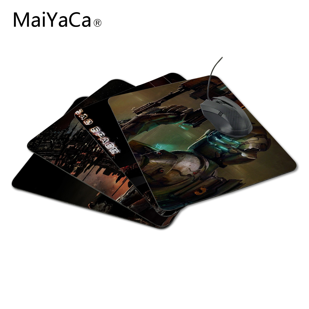 Maiyaca Dead пространство компьютера Мышь Резиновые Gaming Мышь Коврики не оверлок Мышь pad