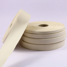 5 Yards Handmade Zakka Plain Cotton Ribbon Webbing Herring Bonebinding Tape Trimming for Packing Cloth Accessories DIY