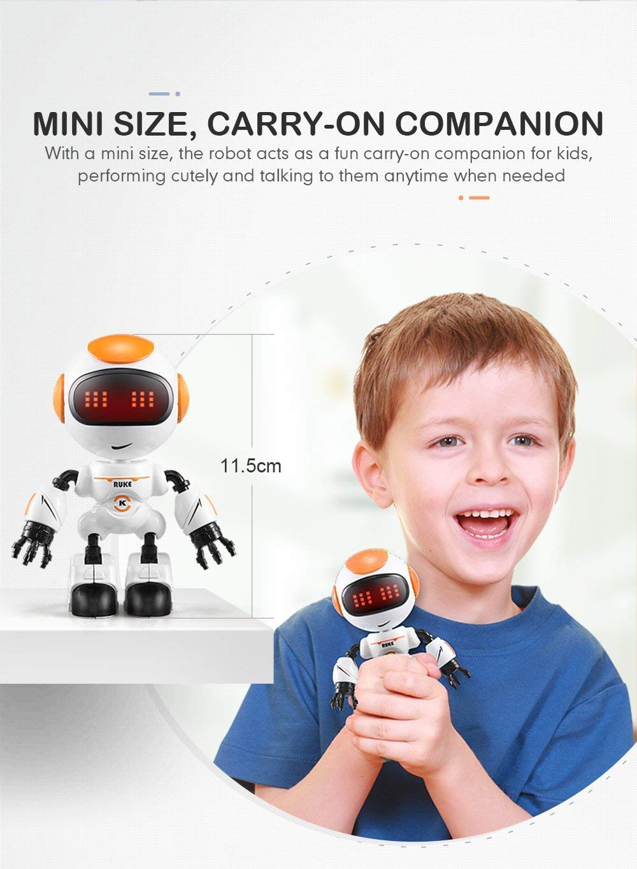 JJRC R8 LUKE Intelligent Robot Touch Control DIY Gesture Talk Smart Mini RC Robot Gift Toy 19