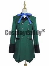 Traje negro Butler Kuroshitsuji Ciel Phantomhive traje verde Cosplay(China) e5a0635809ba